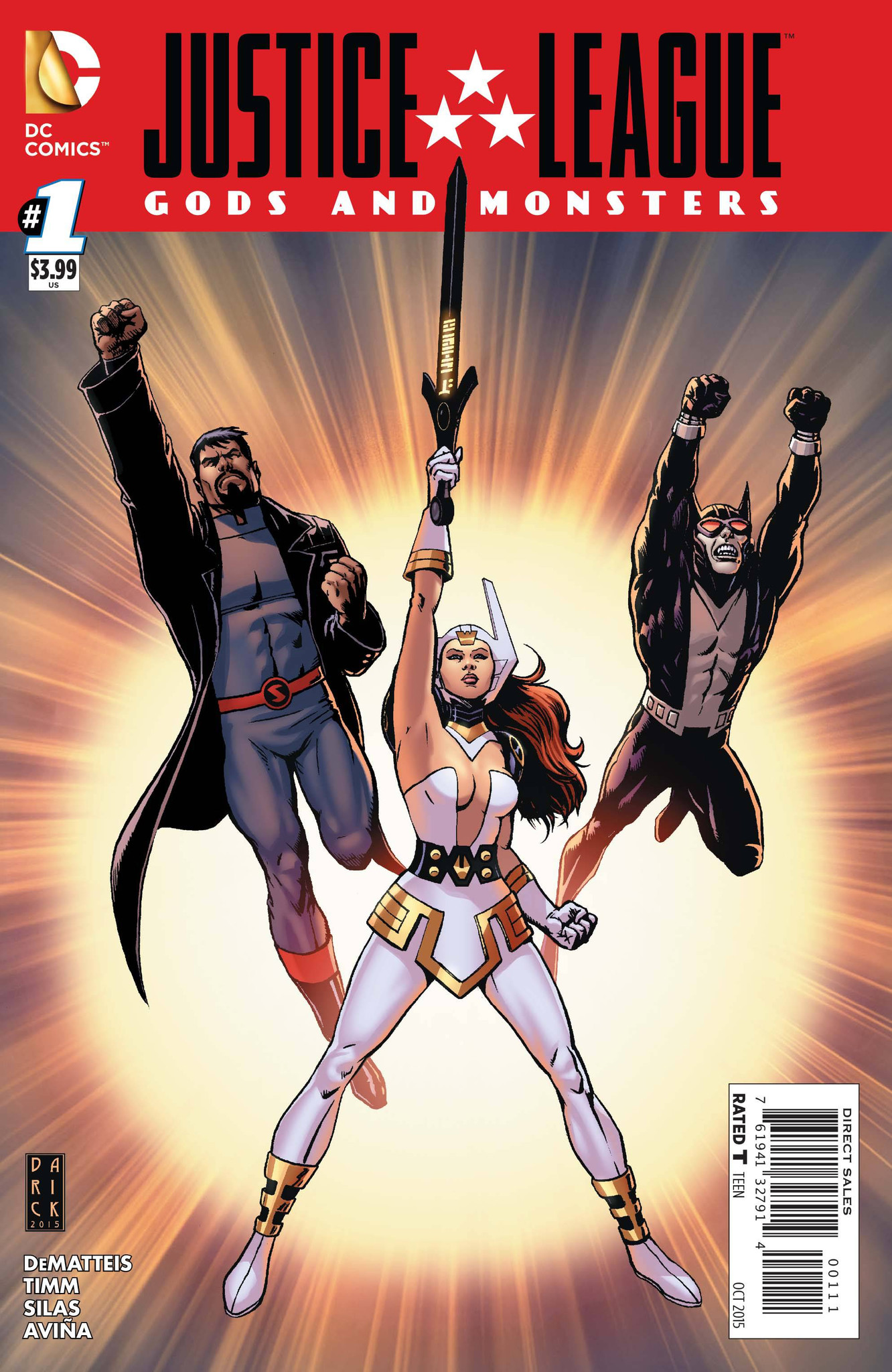 Justice League Gods and Monsters (2015) Complete Bundle - Used