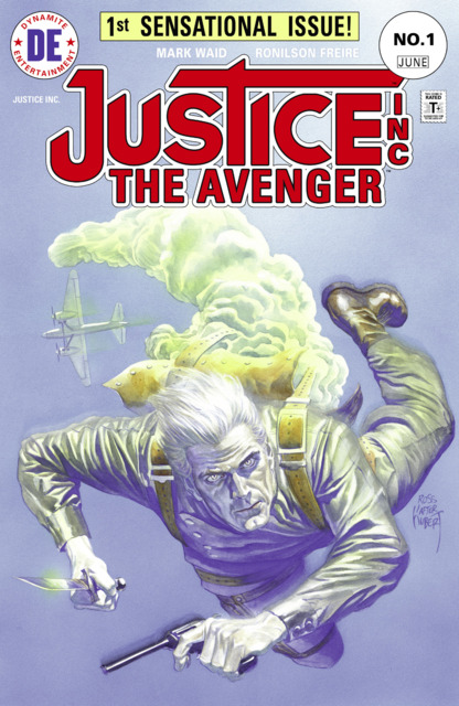 Justice Inc The Avenger (2015) Complete Bundle - Used