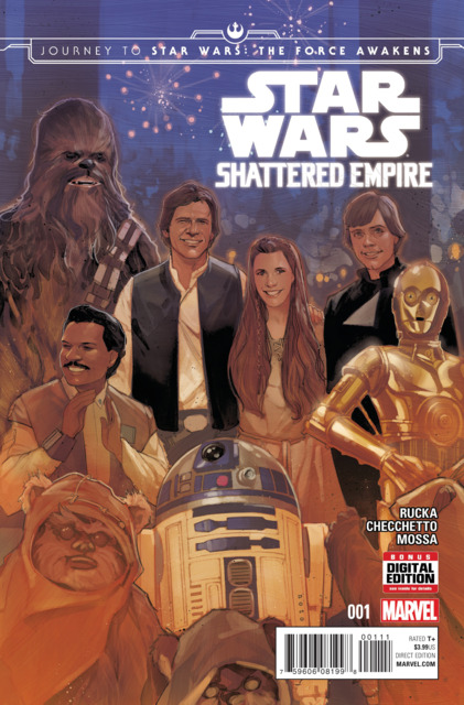 Star Wars: Shattered Empire (2015) Complete Bundle - Used
