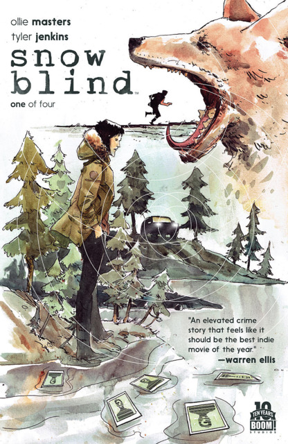 Snow Blind (2015) Complete Bundle - Used