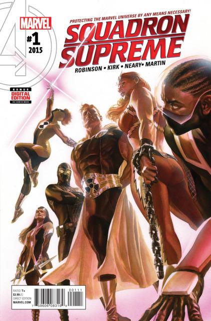 Squadron Supreme (2015) no. 1 - Used