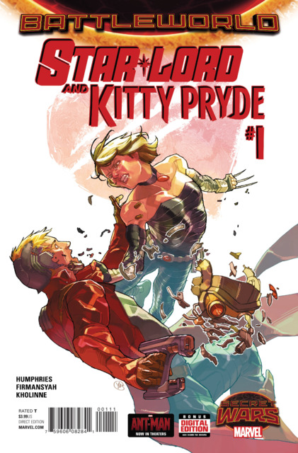 Battleworld: Star Lord and Kitty Pryde (2015) Complete Bundle - Used