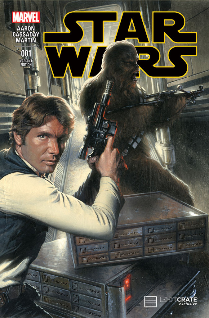Star Wars (2015) no. 1 (Loot Crate Variant) - Used