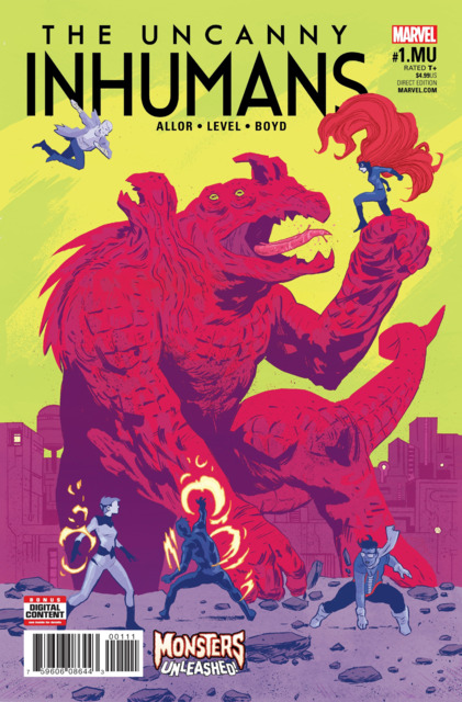 Uncanny Inhumans (2015) no. 1 Monsters Unleashed - Used