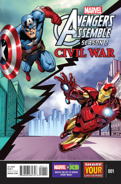 Avengers Assemble Season 2 Civil War (2016) Complete Bundle - Used