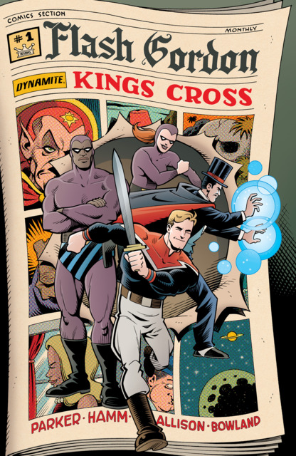 Flash Gordon Kings Cross (2016) Complete Bundle - Used