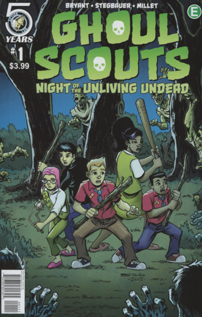 Ghoul Scouts Night of the Unliving Undead (2016) Complete Bundle - Used