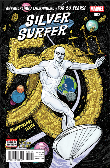Silver Surfer (2016) no. 3 - Used