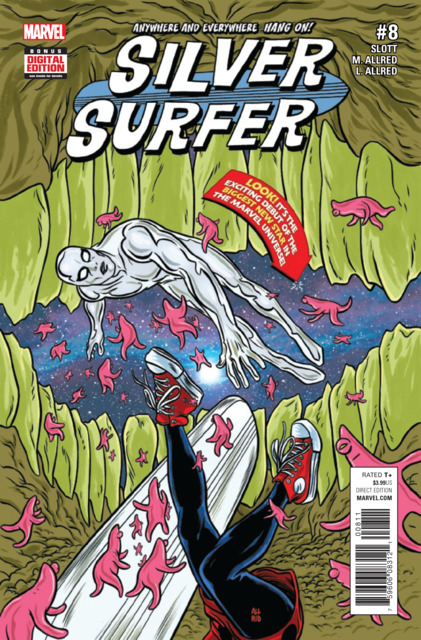 Silver Surfer (2016) no. 8 - Used