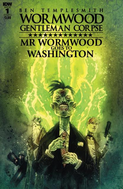 Wormwood Gentleman Corpse: Mr Wormwood goes to Washintgon (2017) Complete Bundle - Used