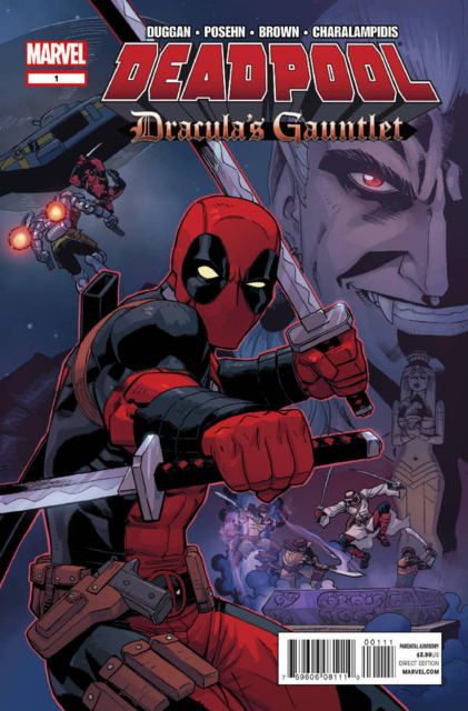 Deadpool: Dracula's Gauntlet (2014) Complete Bundle - Used