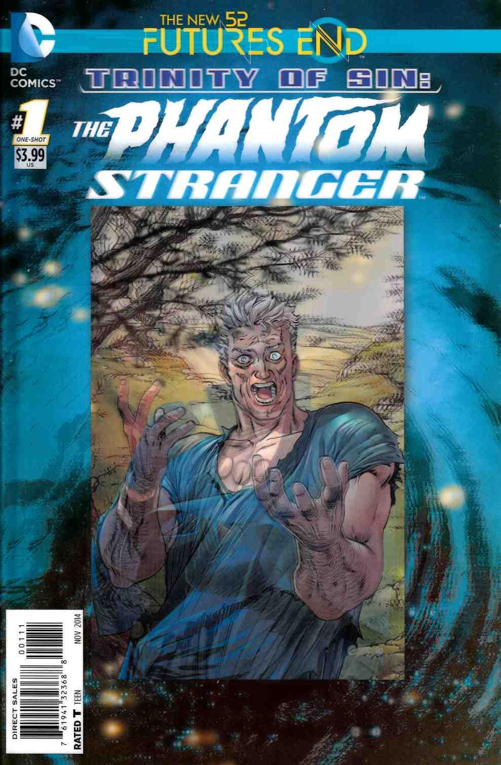 New 52 Futures End (2014) Trinity of Sin The Phantom Stranger One Shot - Used