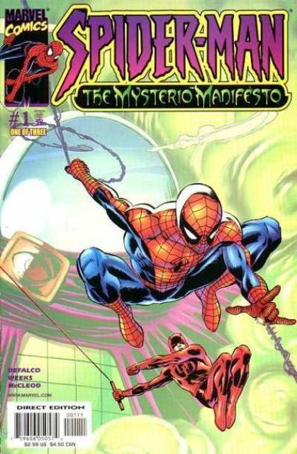 Spider-Man The Mysterio Manifesto (2001) Complete Bundle - Used