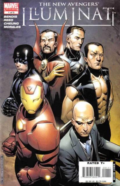 The New Avengers: Illuminati (2006) Complete Bundle - Used