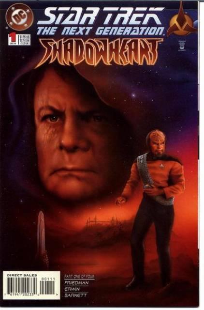 Star Trek The Next Generation: Shadowheart (1994) Complete Bundle - Used
