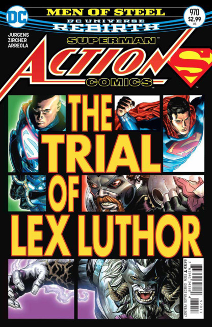 Action Comics (2016) no. 970 - Used