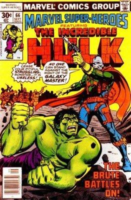 Marvel Super-Heroes (1966) no. 66 - Used