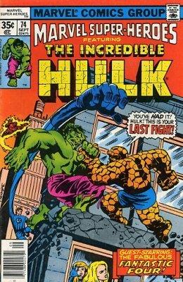Marvel Super-Heroes (1966) no. 74 - Used