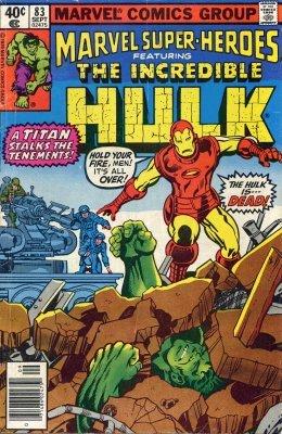 Marvel Super-Heroes (1966) no. 83 - Used