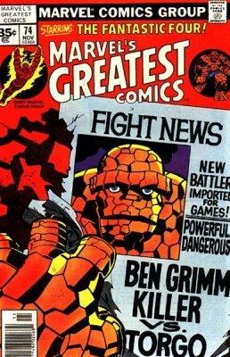 Marvels Greatest Comics (1965) no. 74 - Used