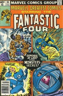 Marvels Greatest Comics (1965) no. 86 - Used