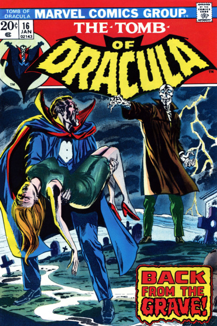 Tomb of Dracula (1972) no. 16 - Used