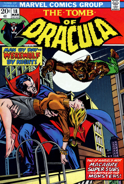 Tomb of Dracula (1972) no. 18 - Used