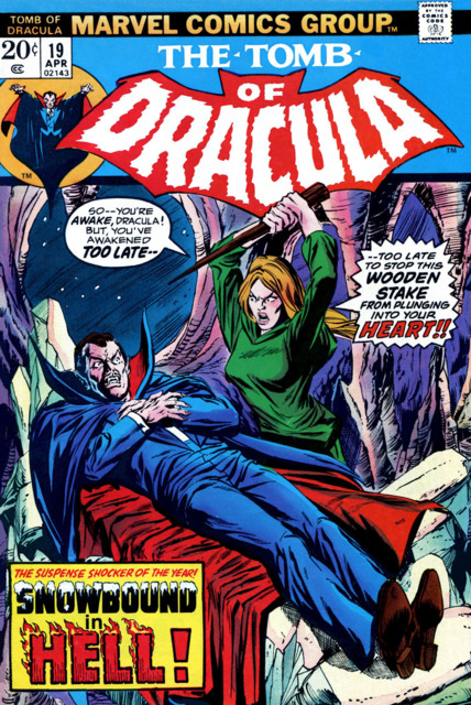 Tomb of Dracula (1972) no. 19 - Used