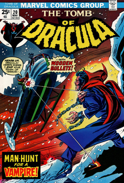 Tomb of Dracula (1972) no. 20 - Used