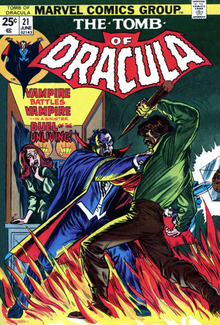 Tomb of Dracula (1972) no. 21 - Used