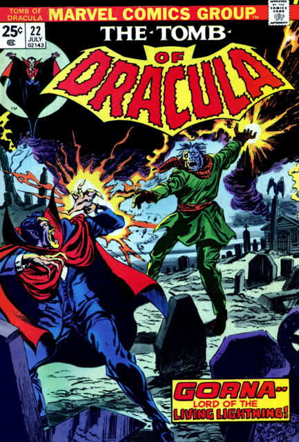Tomb of Dracula (1972) no. 22 - Used