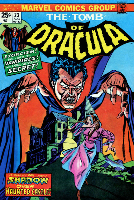 Tomb of Dracula (1972) no. 23 - Used