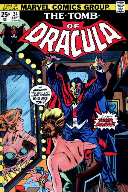 Tomb of Dracula (1972) no. 24 - Used