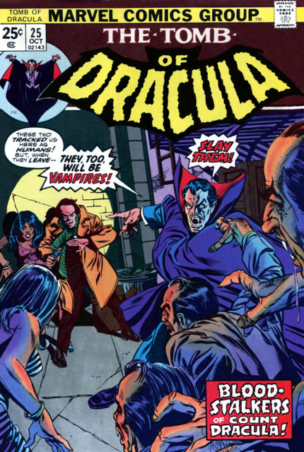 Tomb of Dracula (1972) no. 25 - Used