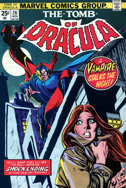 Tomb of Dracula (1972) no. 26 - Used