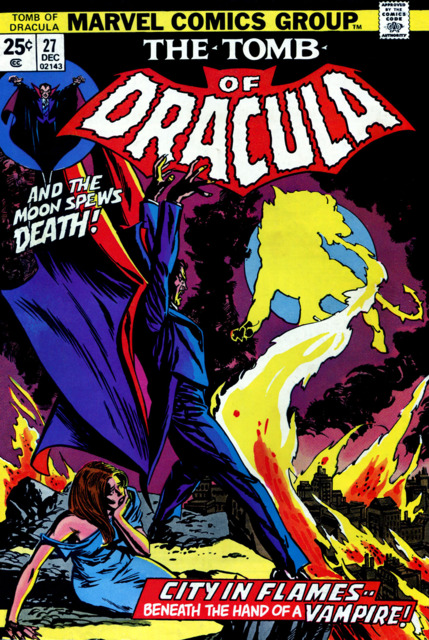 Tomb of Dracula (1972) no. 27 - Used