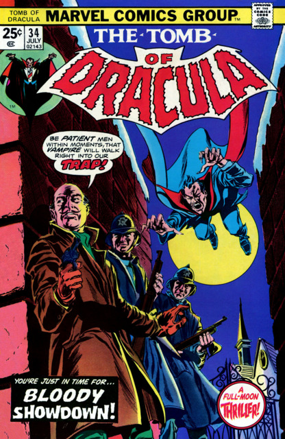 Tomb of Dracula (1972) no. 34 - Used