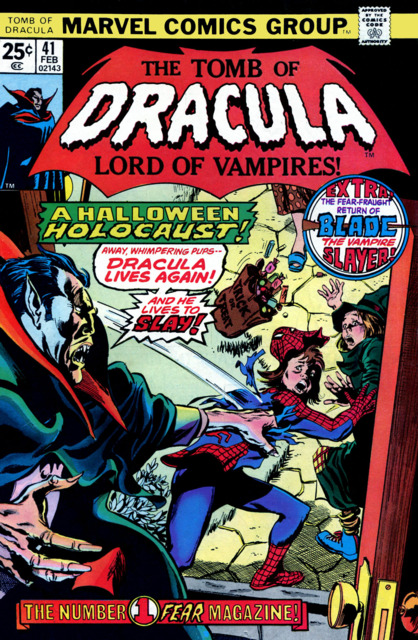 Tomb of Dracula (1972) no. 41 - Used