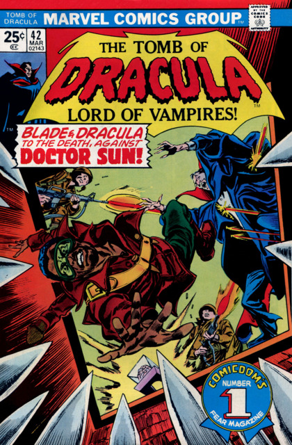 Tomb of Dracula (1972) no. 42 - Used