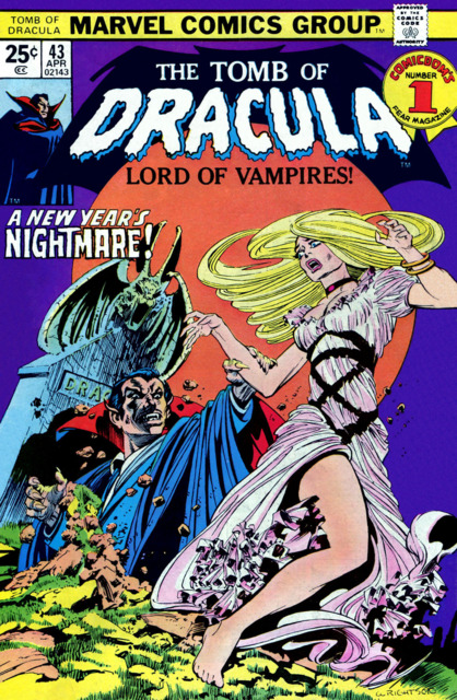 Tomb of Dracula (1972) no. 43 - Used