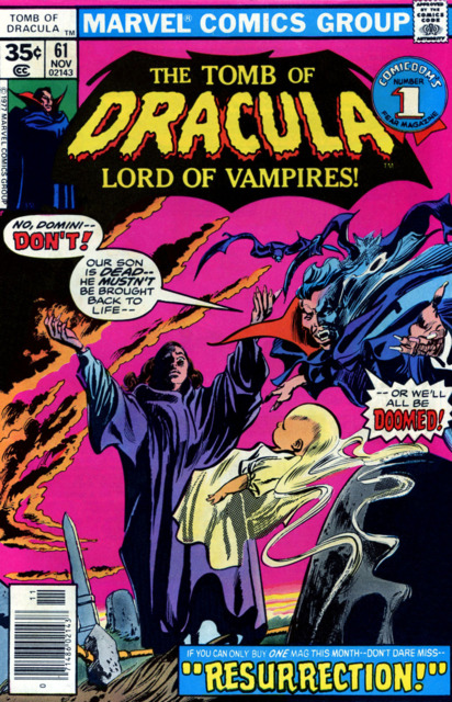 Tomb of Dracula (1972) no. 61 - Used