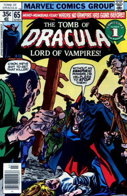 Tomb of Dracula (1972) no. 65 - Used