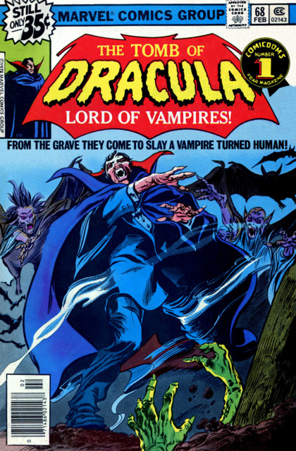 Tomb of Dracula (1972) no. 68 - Used