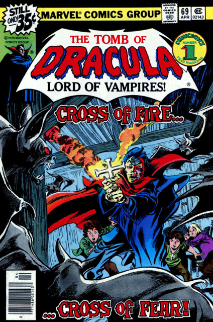 Tomb of Dracula (1972) no. 69 - Used