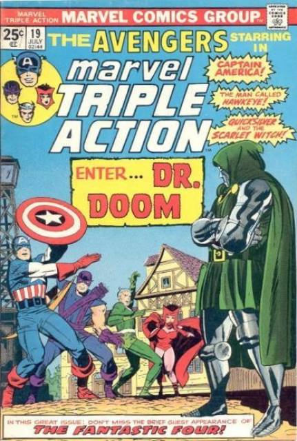 Marvel Triple Action (1972) no. 19 - Used