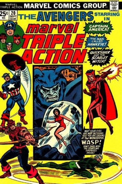Marvel Triple Action (1972) no. 20 - Used