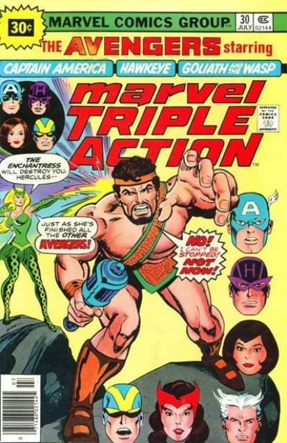 Marvel Triple Action (1972) no. 30 - Used