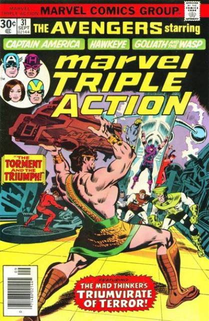Marvel Triple Action (1972) no. 31 - Used