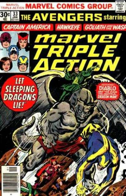 Marvel Triple Action (1972) no. 33 - Used