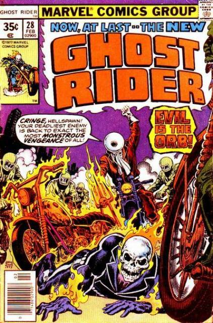 Ghost Rider (1973) no. 28 - Used